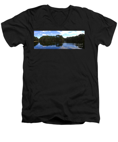 Lake Thomas Hilton Head Men's V-Neck T-Shirt