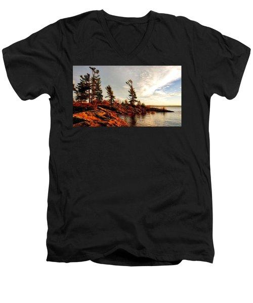 Lakeshore Men's V-Neck T-Shirt