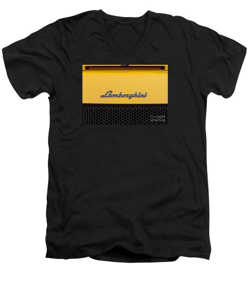 Lamborghini Men's V-Neck T-Shirt