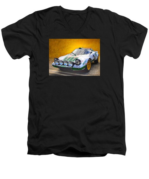 Lancia Stratos Men's V-Neck T-Shirt