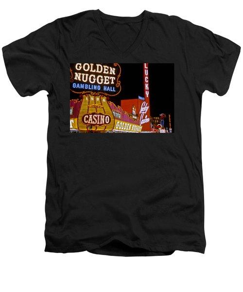 Las Vegas 1964  I Men's V-Neck T-Shirt