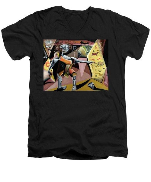 Lascaux Men's V-Neck T-Shirt