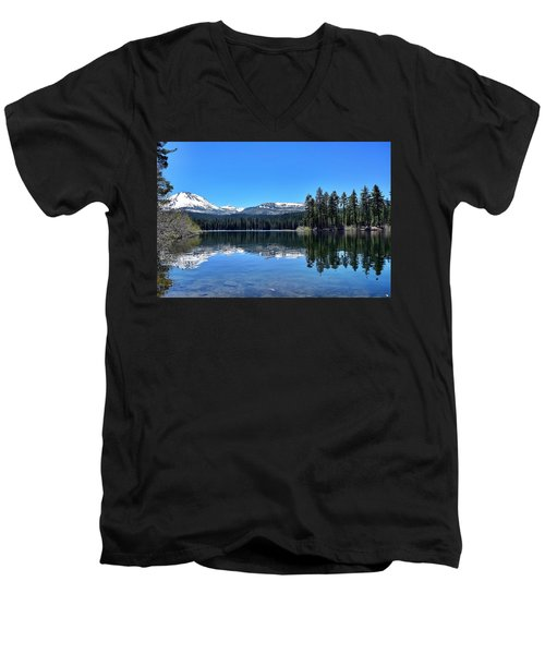 Lassen Volcanic National Park Men's V-Neck T-Shirt