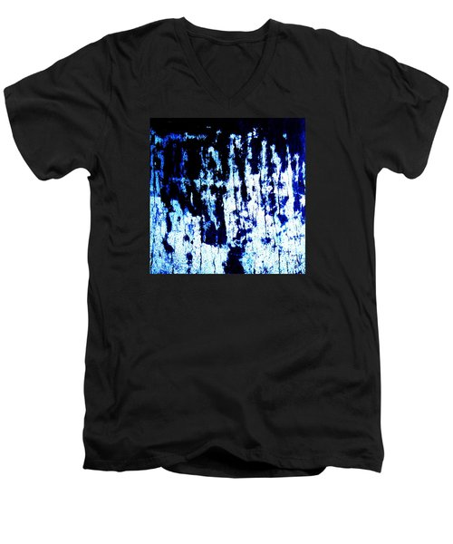 Men's V-Neck T-Shirt featuring the photograph Last Supper by Vanessa Palomino