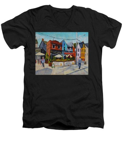 Last Temptation Men's V-Neck T-Shirt