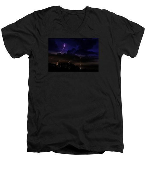 Late Night Encounter Men's V-Neck T-Shirt