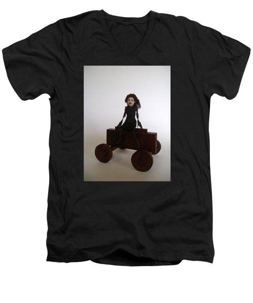 Laugh Until It's Right Men's V-Neck T-Shirt