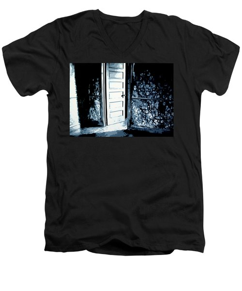 Laura's Painting Men's V-Neck T-Shirt
