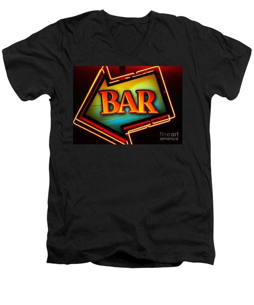 Laurettes Bar Men's V-Neck T-Shirt