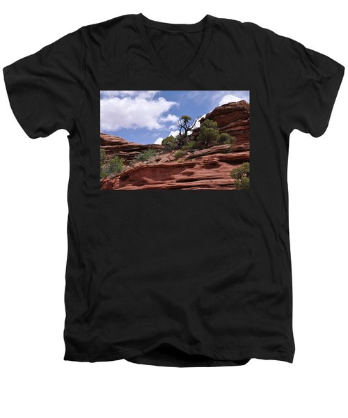 Layers Upon Layers Men's V-Neck T-Shirt