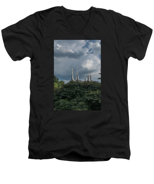 Lds Storm Clouds Men's V-Neck T-Shirt