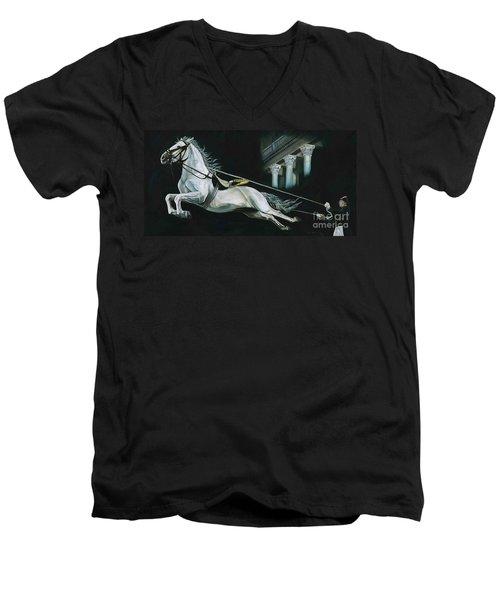 Learning To Fly Men's V-Neck T-Shirt