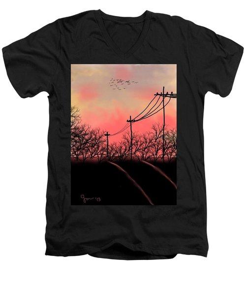 Leaving Home Men's V-Neck T-Shirt