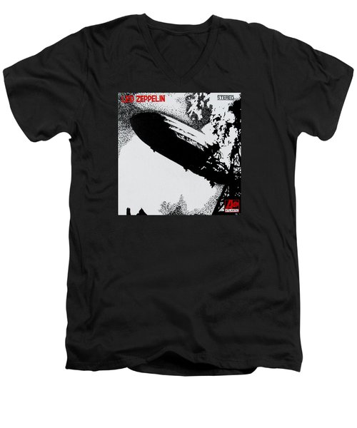 Led Zeppelin Men's V-Neck T-Shirt