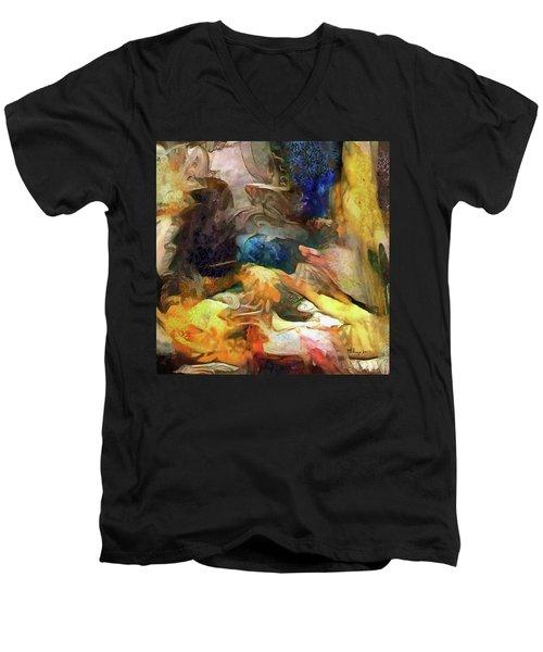 Leftover Wine Men's V-Neck T-Shirt