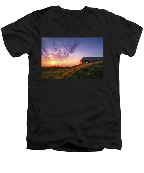 Legacy Of The Ancients Men's V-Neck T-Shirt