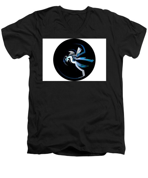 Legendary Horse Pegasus Men's V-Neck T-Shirt by Thibault Toussaint
