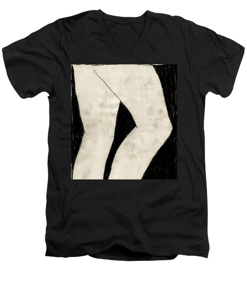 Legs Men's V-Neck T-Shirt