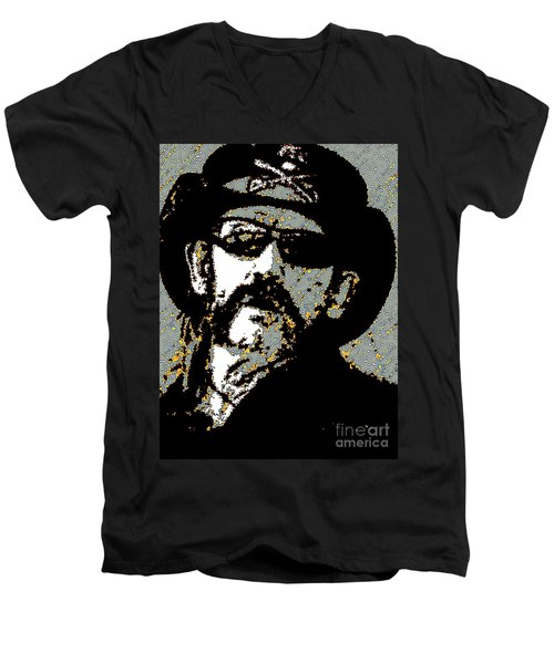 Lemmy K Men's V-Neck T-Shirt