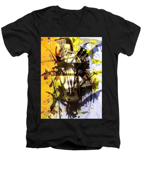 Lemon To Wounds  Men's V-Neck T-Shirt