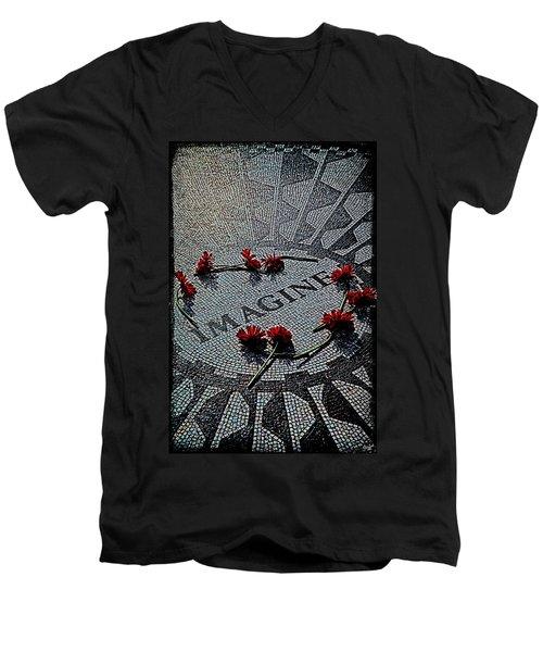 Imagine If Men's V-Neck T-Shirt