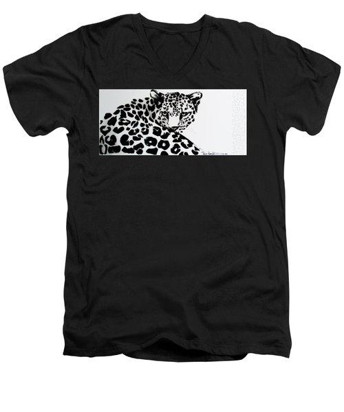 Lenny Men's V-Neck T-Shirt