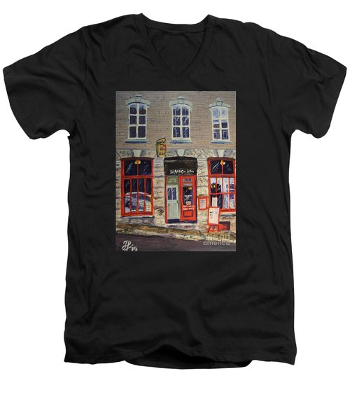 Lepetitcoinlatin Men's V-Neck T-Shirt