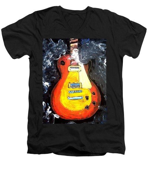 Les Paul Live Men's V-Neck T-Shirt