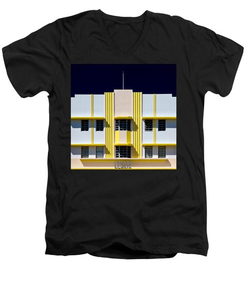 Leslie Hotel Men's V-Neck T-Shirt