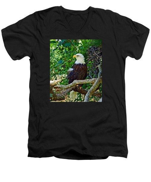 Let Freedom Ring Men's V-Neck T-Shirt