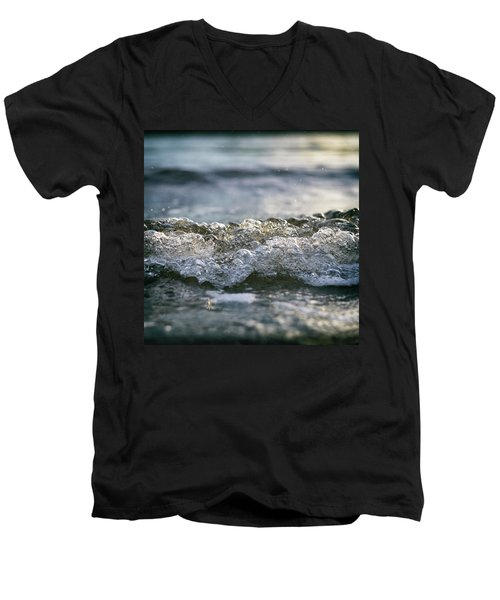 Men's V-Neck T-Shirt featuring the photograph Let It Come To You by Laura Fasulo