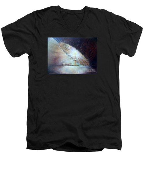 Let It Shine Men's V-Neck T-Shirt