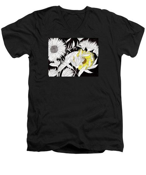Let Your Light Shine Men's V-Neck T-Shirt by Lou Belcher