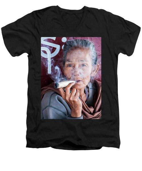 Liberated. Men's V-Neck T-Shirt
