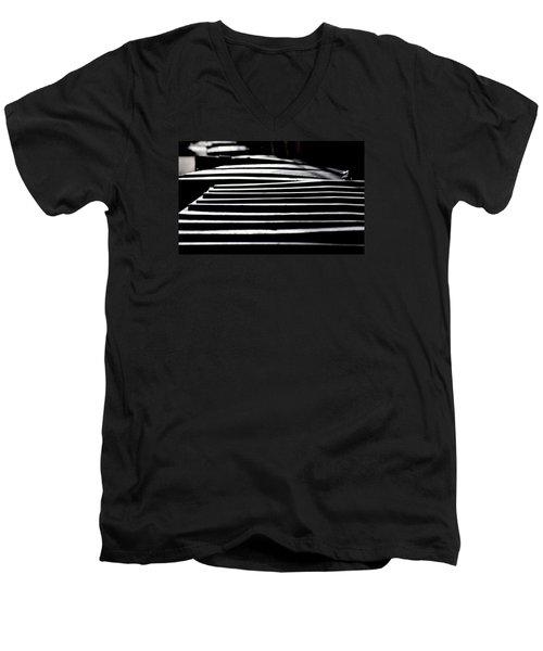 Lids Men's V-Neck T-Shirt by David Gilbert