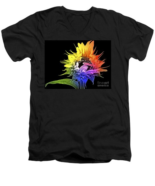 Life Is Like A Rainbow ... Men's V-Neck T-Shirt