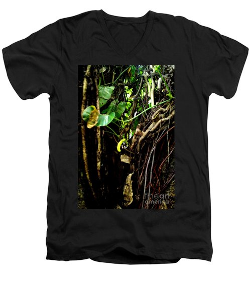 Men's V-Neck T-Shirt featuring the photograph Life by Rushan Ruzaick