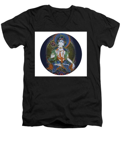 Light Giving Shiva  Men's V-Neck T-Shirt
