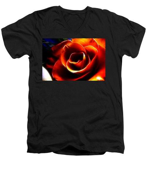 Light Kisses Men's V-Neck T-Shirt