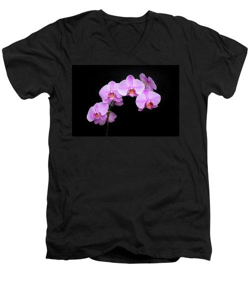 Light On The Purple Please Men's V-Neck T-Shirt