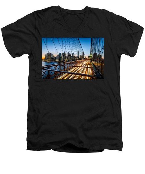 Lightwave Men's V-Neck T-Shirt