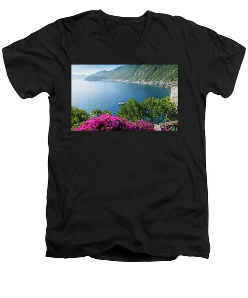 Ligurian Sea, Italy Men's V-Neck T-Shirt