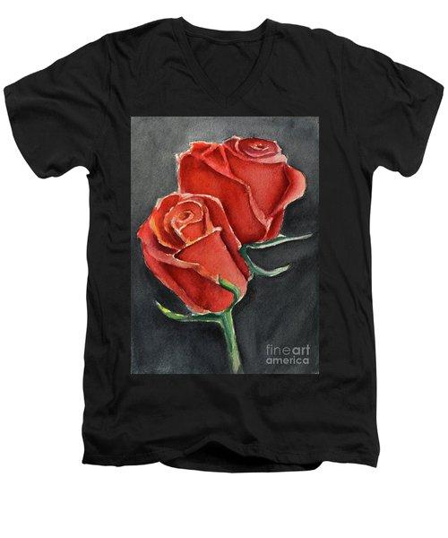 Like A Rose Men's V-Neck T-Shirt