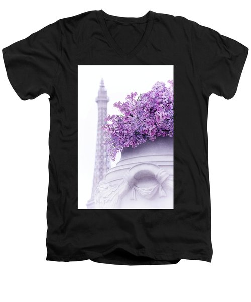 Lilac Tales Men's V-Neck T-Shirt
