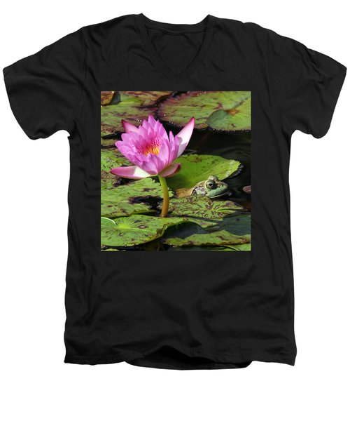 Lily And The Bullfrog Men's V-Neck T-Shirt