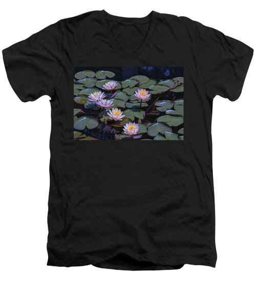 Lily Of The Night Men's V-Neck T-Shirt