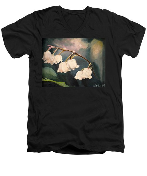 Lily Whites Men's V-Neck T-Shirt