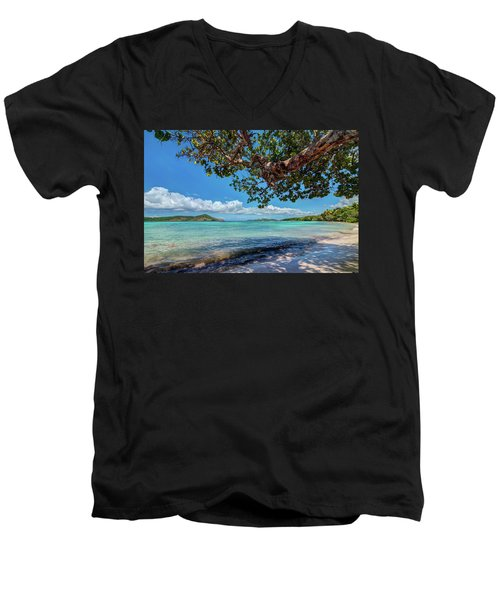 Lindquist Beach Men's V-Neck T-Shirt