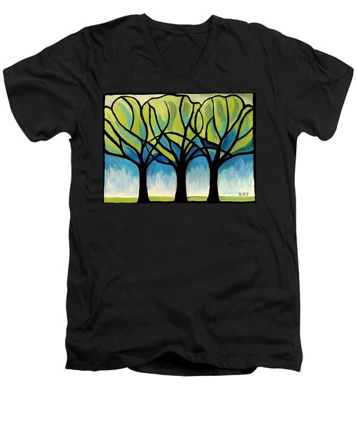 Lineage  Men's V-Neck T-Shirt