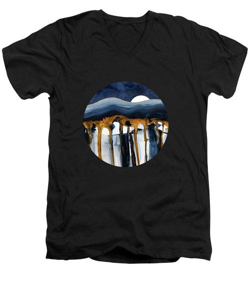 Liquid Hills Men's V-Neck T-Shirt